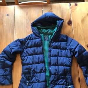 Out shell polyester puffer jacket